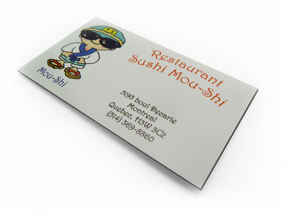 Montreal Business Card Magnets