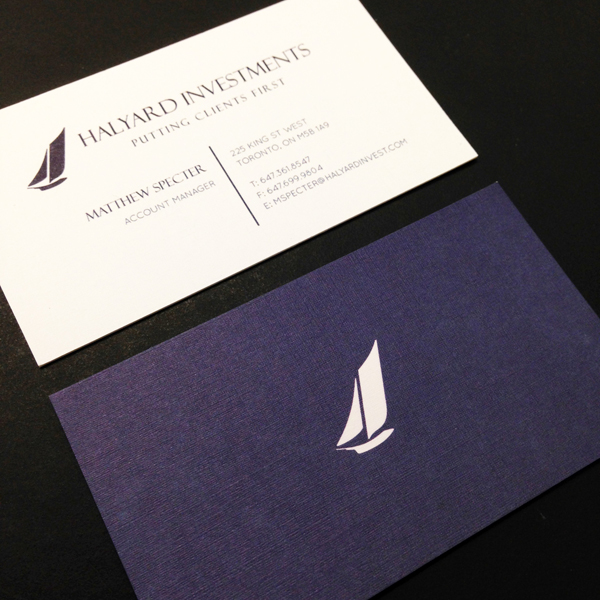Specialty Stock Business Cards Montreal