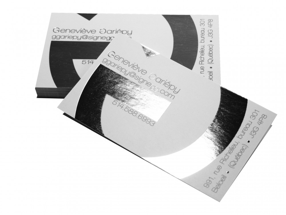 Business card printing delivery available montreal printing foil business cards colourmoves